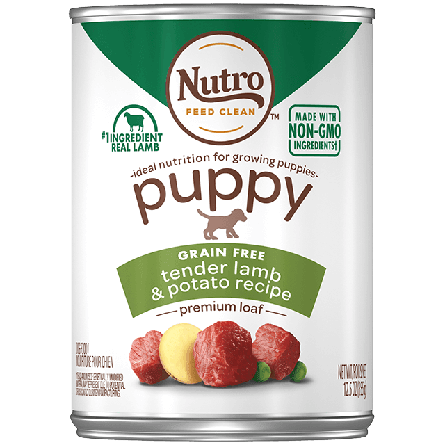 Nutro Premium Loaf Grain Free Tender Lamb & Potato Puppy Canned Food