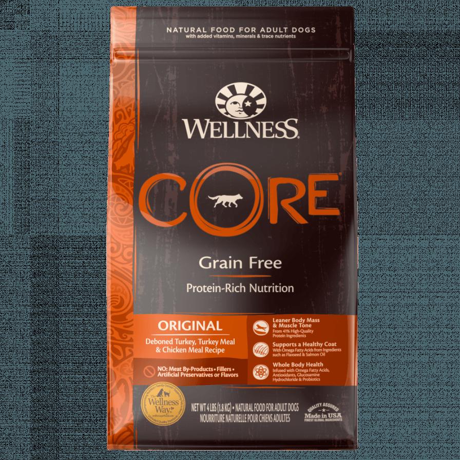 Wellness CORE Natural Grain Free Original Turkey & Chicken Recipe Dry Dog Food