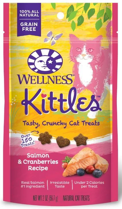 Wellness Kittles Crunchy Salmon & Cranberry Cat Treats