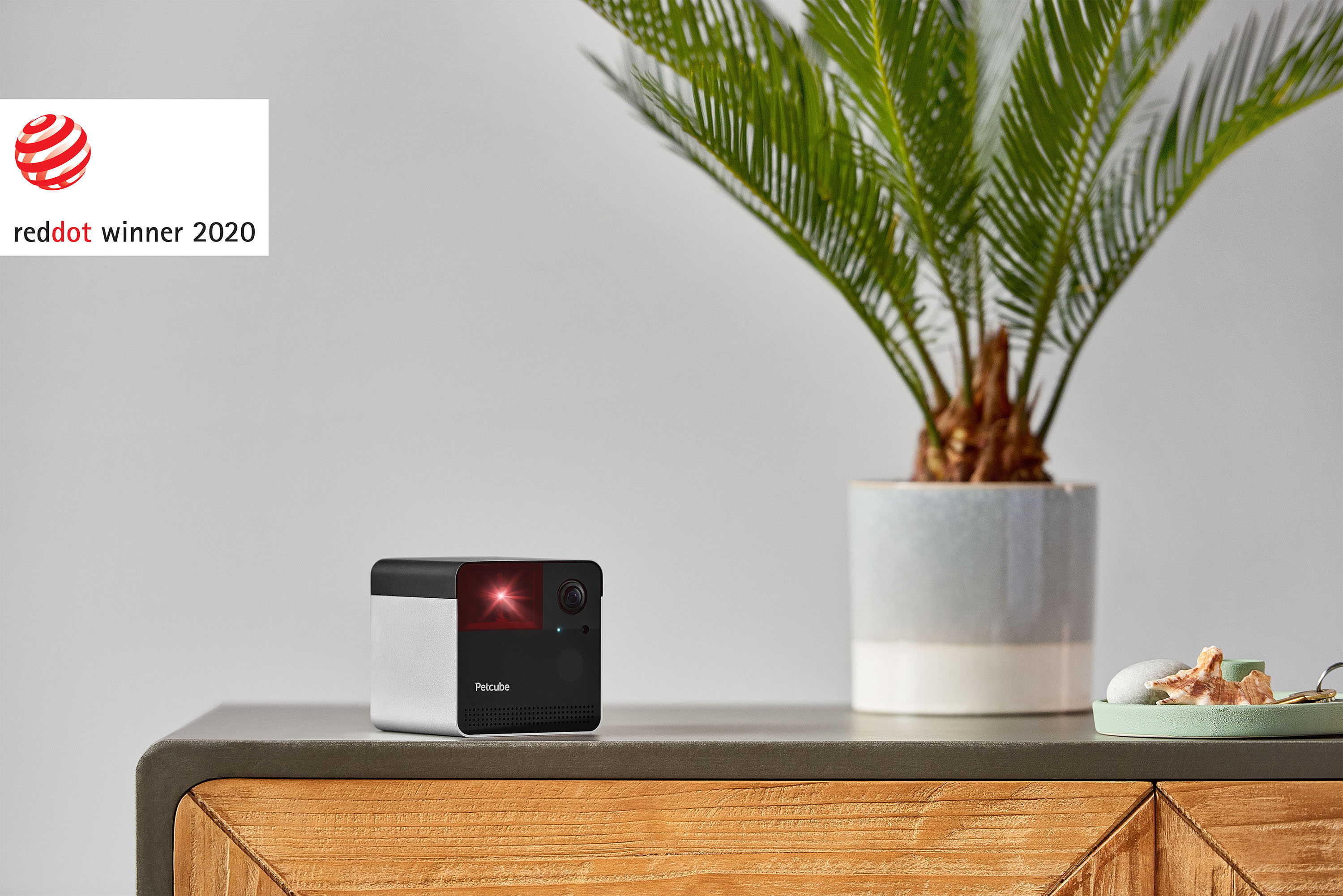 Petcube Play 2 pet camera with a built-in laser toy
